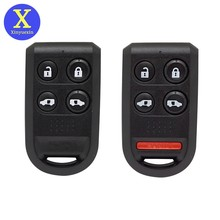 Xinyuexin repalcement keyless entrada caso chave do carro fob para honda odyssey 2005-2010 carro remoto caso chave 4 5 botões auto acessório