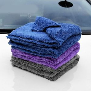 Image 2 - 350GSM Premium Microfiber Car Detailing Super AbsorbentTowel Ultra Soft Edgeless Car Washing Drying Towel 40X40CM Dropshipping