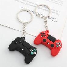 Porte-clés avec poignée de jeu vidéo créatif, pendentif, modèle de Joystick pour petit ami, pour hommes, bibelot, cadeau d'anniversaire