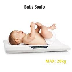 Neugeborenen Baby Haustiere Infant Skala Abs Lcd Display Gewicht Kleinkind Wachsen Elektronische Meter Digital Professional Bis Zu 20kg