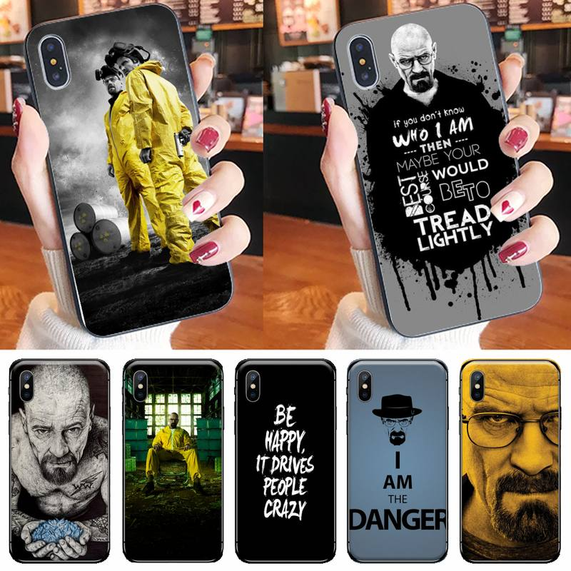 Heisenberg Breaking Bad Phone Case for iPhone 11 12 pro XS MAX 8 7 6 6S Plus X 5S SE 2020 XR