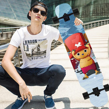 ONEPIECE Adult skate boys and girls Beginners dancing Maple wood  long skate boards