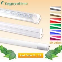 Led Tube T5 T8 AC 110V 220V LED Integrated Tube LED Light 2835 SMD 6W 10W 20W 300mm 600mm 1FT 2FT LED Fluorescent Lamp Ampoule стоимость