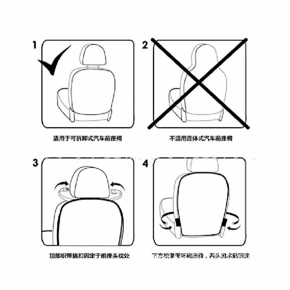 Wysokiej jakości luksusowy samochód ochraniacz na fotel Auto mata antypoślizgowa dziecko dziecko fotelik dla dziecka pokrywa ochronna na siedzenie w samochodzie