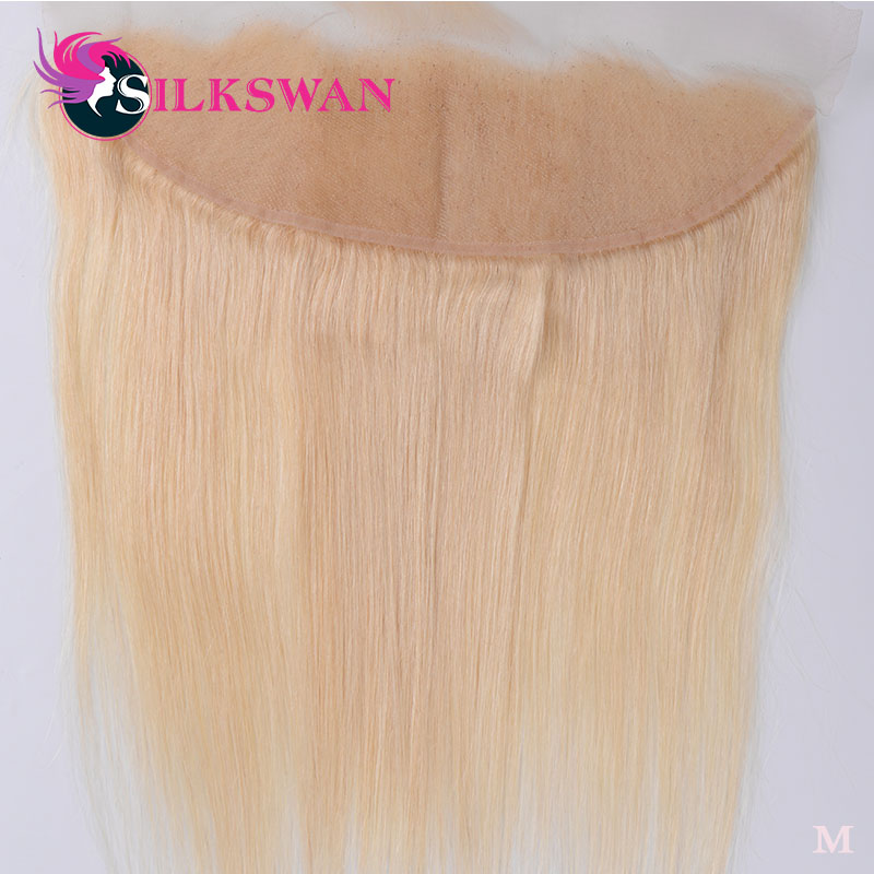 Silkswan 13*4 Lace Frontal Brazilian Human Remy Hair Straight #613 #1B/613 Ombre Color With Baby Hair Ear To Ear Free Shipping