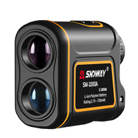 SNDWAY-telémetro láser 7X, telescopio Monocular para caza, Golf, Medidor láser de distancia, medida de velocidad, 600M, 1000M, 1500