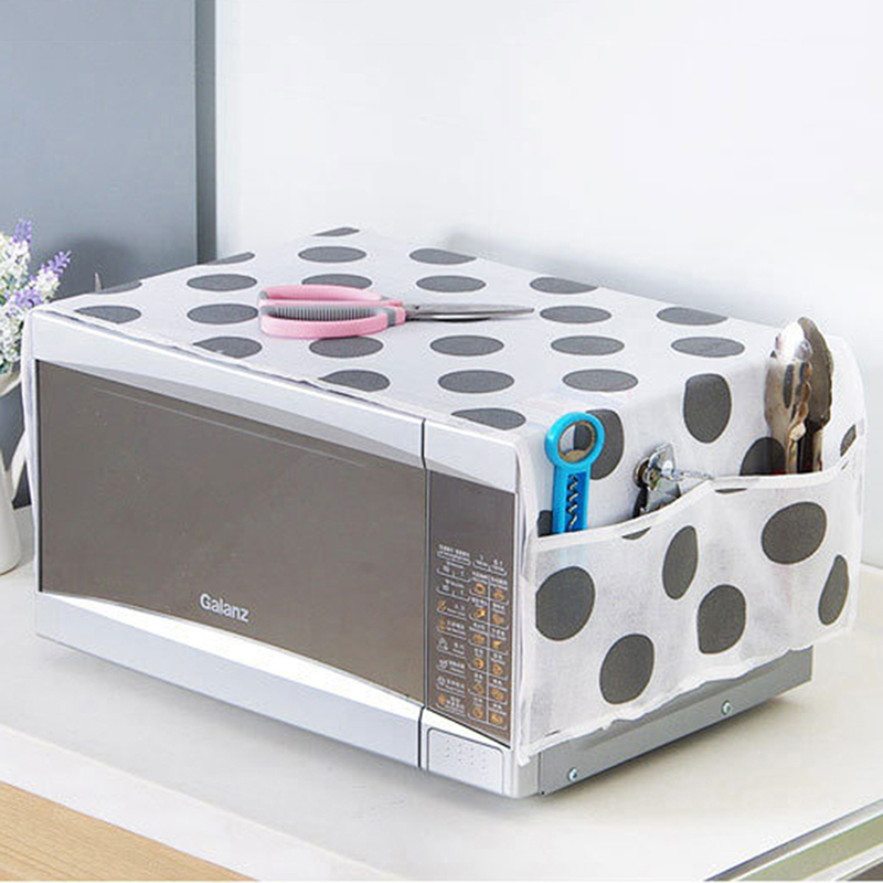 Waterproof Easy To Clean Microwave Oven Covers Kitchen Gadgets Home Storage organization Bag Wholesale Bulk Accessories Supplies