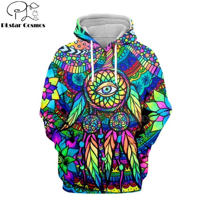 PLstar Cosmos Hippie Mandala Trippy Abstract Psychedelic 3d Hoodies/Sweatshirt Winter Autumn Long Sleeve Streetwear-19