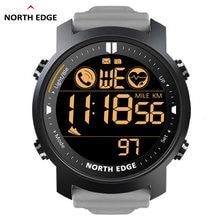 Мужские умные часы north edge водонепроницаемые с пульсометром