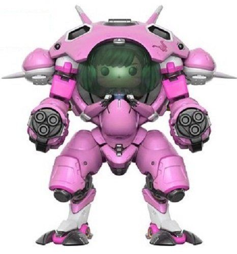 Game OW 15cm Character D.VA With Meka 6