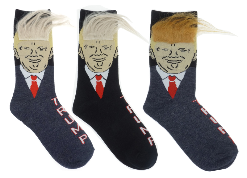 President Donald Trump Socks Unisex  Adult Casual Crew Socks Hip Hop Skateboard Sock