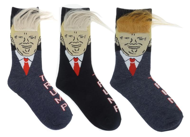 President Donald Trump Socks Unisex  Adult Casual Crew Socks Hip Hop Skateboard Sock
