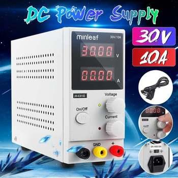 LED Display DC Power Supply Mini Adjustable 30V 10A Laboratory Switching Regulator Power Supply Laptop Phone Repair Rework Tools