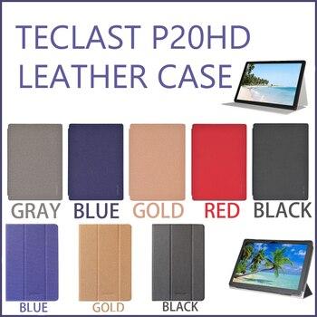 """¡Novedad! Funda de moda Teclast P20HD, Funda de cuero PU con tapa y soporte para 10,1"""""""