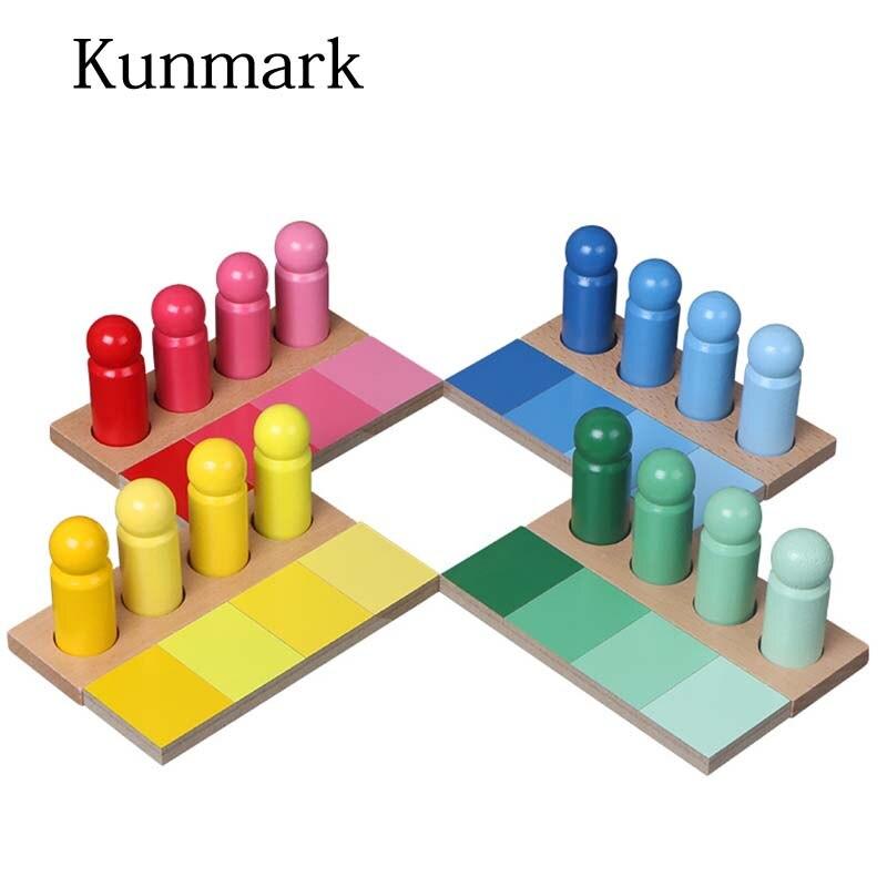 Montessori matériaux bébé Montessori couleur correspondant ressemblance tri petite enfance préscolaire enfants jouet éducatif