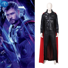 Manluyunxiao Thor Cosplay Marvel Movie Ragnarok Superhero Odinson Outfit Halloween Costumes For Men Adult Plus Custom Made
