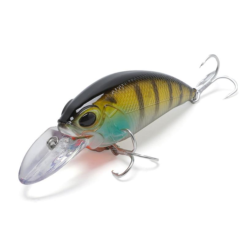 2020 New 15.5G 87mm Crankbaits Minow Crank Fishing Lure Floating Fishing Lure Jig Head Fishing Baits Pike Pike Wobbler