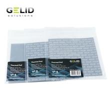 GELID تبديد الحرارة لوحة حرارية دفتر شحم حراري GPU بطاقة الشمال جنوب جسر برودة 12 واط/mk 120x120 مللي متر 0.5 مللي متر/1.0 مللي متر/1.5 مللي متر/مللي متر