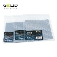 GELID Wärmeableitung Thermische Pad Notebook Thermische Fett GPU Karte North South Bridge Kühler 12W/mk 120x12 0mm 0,5mm/1,0mm/1,5mm
