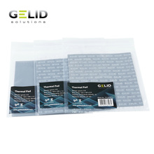 GELID almohadilla térmica de disipación de calor grasa térmica para Notebook tarjeta GPU refrigerador de puente Norte Sur 12W/mk 120x120mm 0,5mm/1,0mm/1,5mm