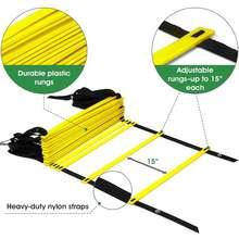 Нейлоновые ремни тренировочные лестницы скорость ловкость лестница