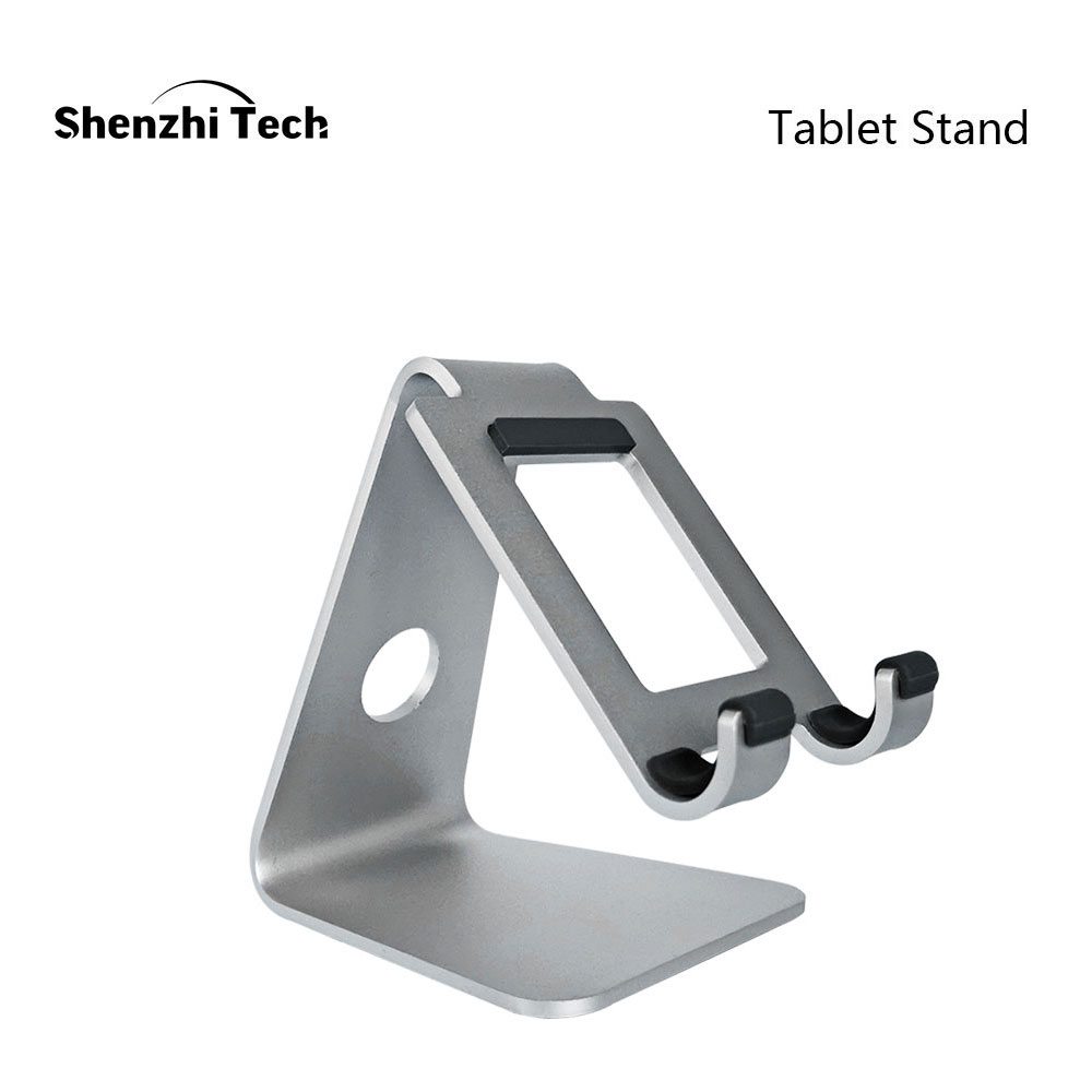 Tablet Stand, Portable Durable Aluminum Holder for iPad 3.5-10 inch Tablet and Smartphones E-readers Lazy Stand title=