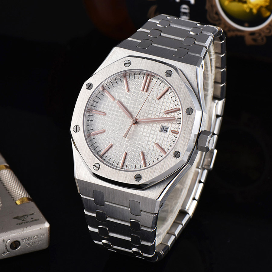 watch men automatic mechanical watch 316L Solid stainless steel date Luminous waterproof 41MM LM11z