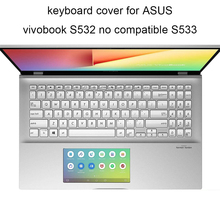 Keyboard-Covers Laptop Zenbook Skin Silicone for ASUS 15-s15/S532/Zenbook/..