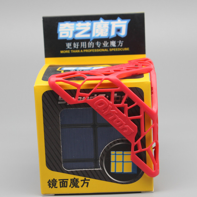 Qiyi Mirror Cube 3x3 Speed Cube 3x3x3 Magic Cube Puzzle Educational Toys For Children Cast Coated Mirror Blocks Gift 5