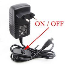 5V3A 5 V/3A Raspberry Pi 3 Model B+ плюс Мощность адаптер USB Зарядное устройство PSU Питание блок Источники питания переключения разъем адаптера