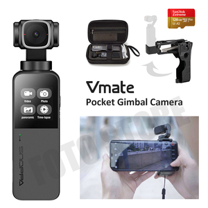 Snoppa Vmate Palm sized Handheld Gimbal Camera 3-Axis Stabilizer Pocket Camera for Vlog video Youtube Smart Camera