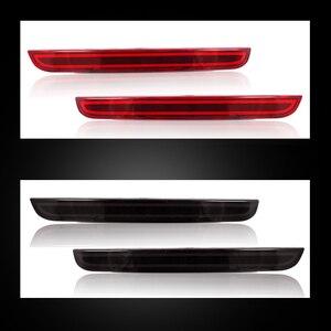 Image 3 - IJDM Kit de phare de pare choc arrière 3D, LED de Style optique, pour Dodge Challenger à 2015, fonction de feux antibrouillard arrière ou arrière