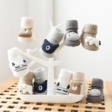 Socks Newborn Spring Anti-Slip Animal Infant Winter Cotton Cartoon Autumn Soft