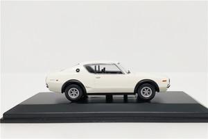 Image 2 - Kyosho 1:64 Nissan horizon 2000 GTR (KPGC110) modèle de voiture moulé sous pression blanc