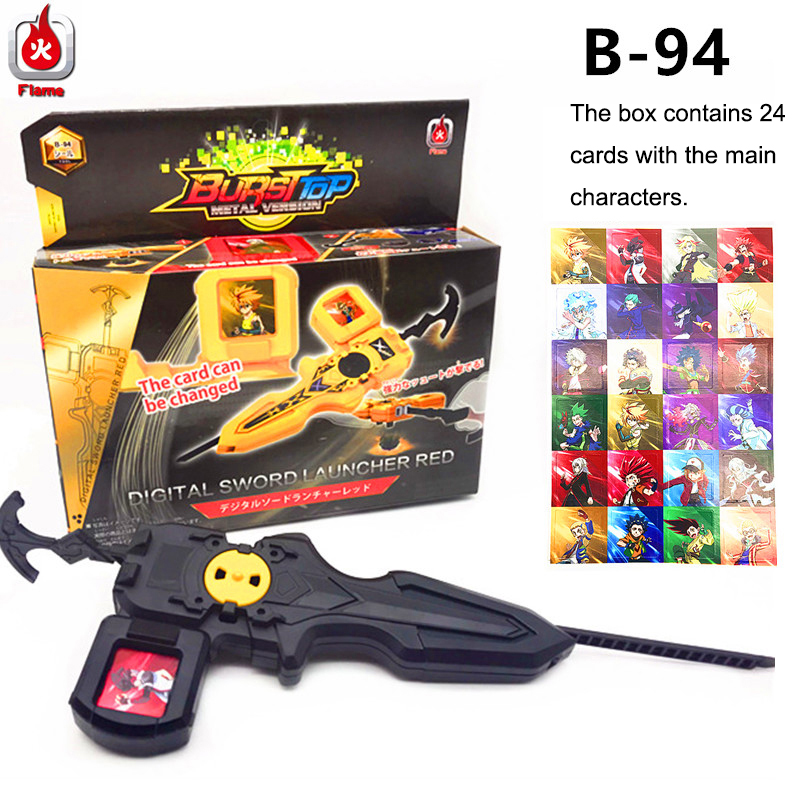 New B133 B135 B144 <font><b>Beyblade</b></font> <font><b>burst</b></font> starter Bey Blade blades metal fusion <font><b>beyblade</b></font> with launcher high performance battling top image