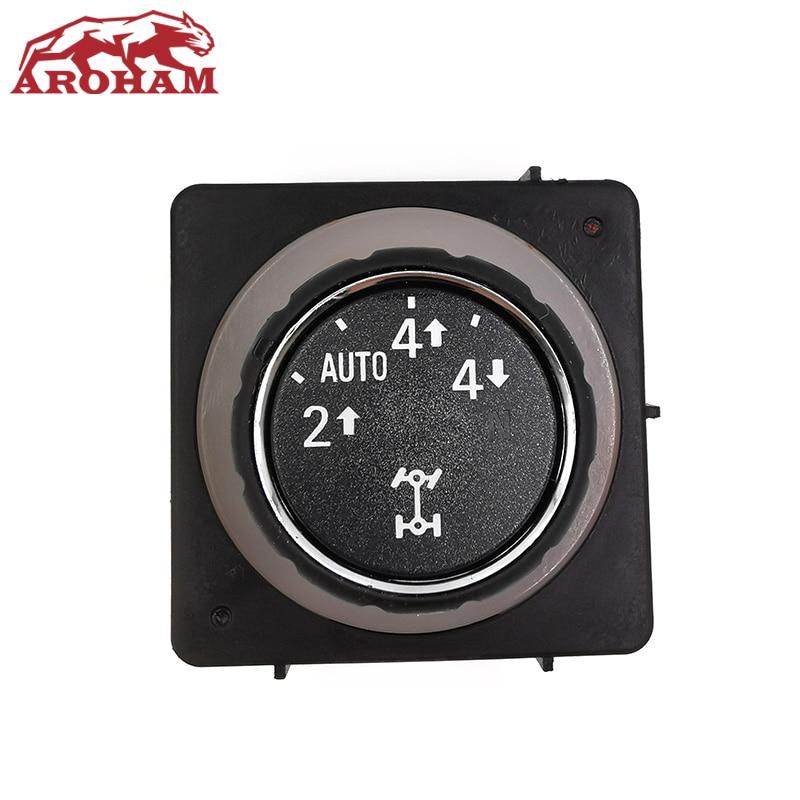 25878425 High Quality For Chevrolet Silverado GMC Yukon 2008 2009 2010 2011 2012 2013 2014 Transfer Case Selector Switch With