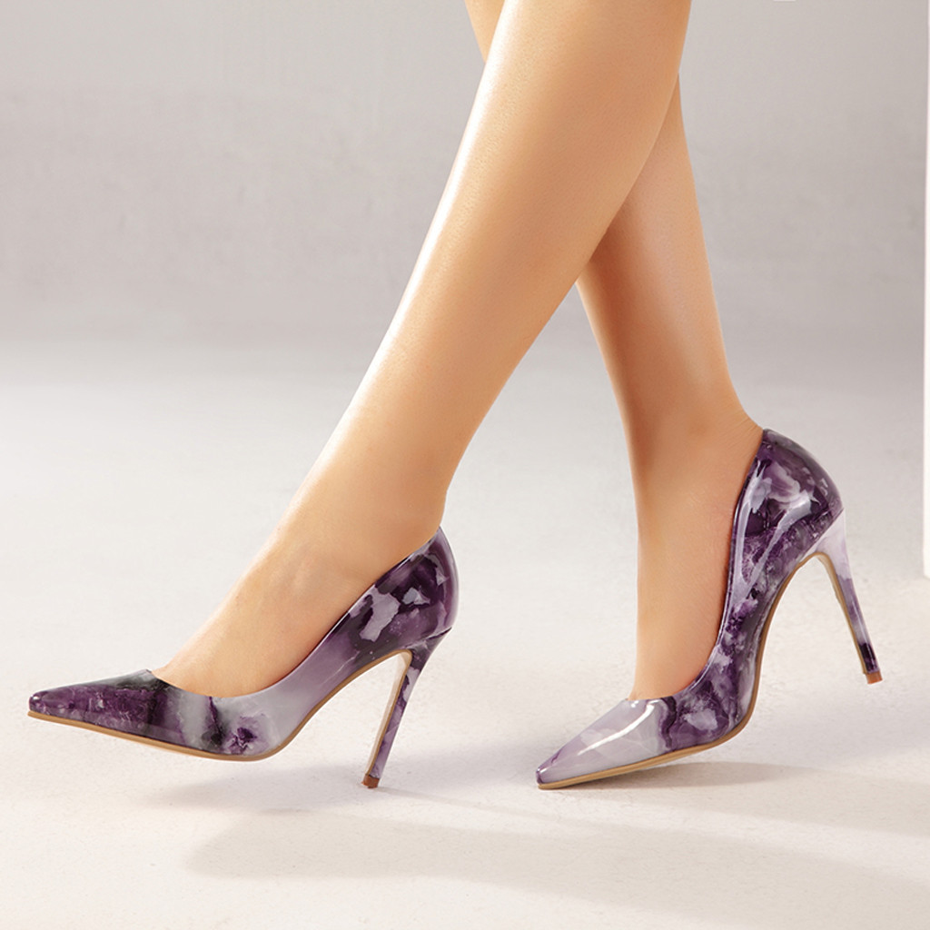 Purple Pumps And Heels