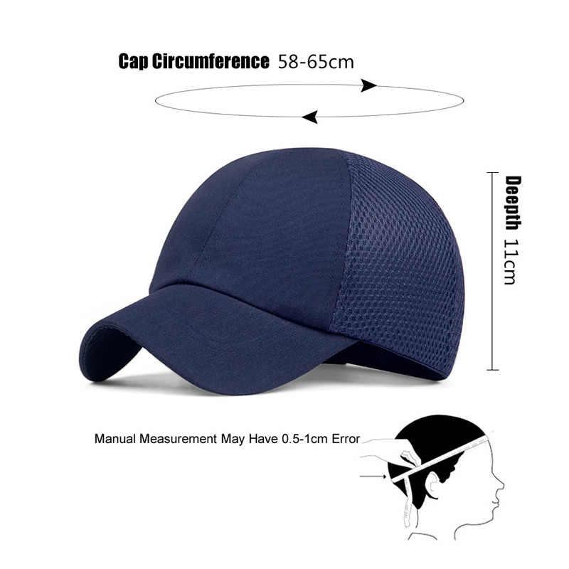 2020 di estate Tappo Urto di Protezione Berretto Da Baseball di Stile Del Cappello Traspirante Cappello Duro Lavoro Casco Di Sicurezza Per Il Sito di Lavoro di Protezione della Testa