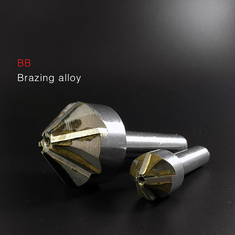 BB Countersink Drill With Brazing Carbide Blade Chamfering Milling Tool 16mm 20mm 25mm 30mm 40mm