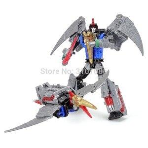 Image 3 - Robot de figurine 5 en 1, jouets de Transformation Dinoking volcanus Grimlock, boue, snarm Swoop slash Dinobots 5 en 1