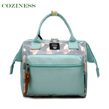 COZINESS Small Size Mommy Bag Shoulder Diagonal Bags Backpack Multifunctional Fashion Infant Bag Portable Mom Outing Diaper Bag