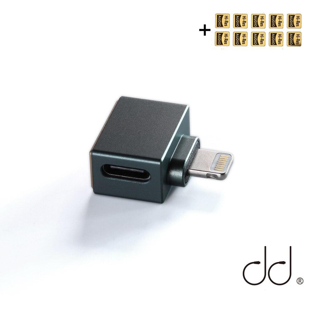 Для декодирования на устройствах iOS, декодирующие кабели и USB-C наушники DD ddHiFi TC28i Lightning штекер на Type-C гнездо OTG адаптер