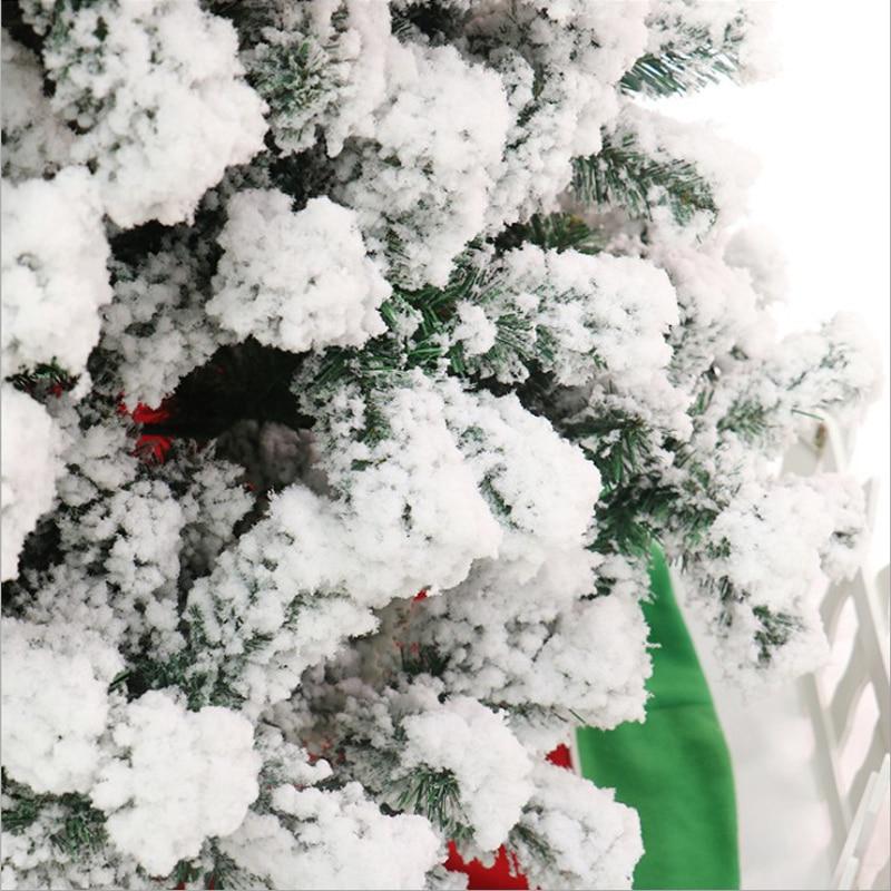 120 см ПВХ белая Снежинка Новогодняя вечеринка домашний Рождественский отель украшения Рождественская елка - 2
