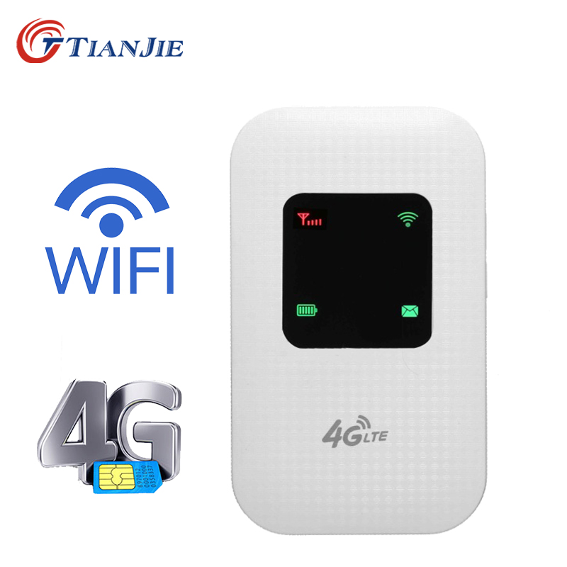 Portable 4G Wifi Wireless Router Mobile Hotspot Modem SIM Card Slot Unlocked NEW