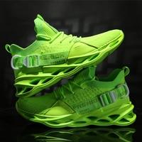 Man รองเท้าผ้าใบใบมีดน้ำหนักเบารองเท้าวิ่งสำหรับชายวิ่งจ๊อกกิ้งเดินรองเท้ากีฬาคุณภาพสูงรองเท้ากีฬา LACE up รองเท้าสบาย-ใน รองเท้าวัลคาไนซ์ของผู้ชาย จาก รองเท้า บน