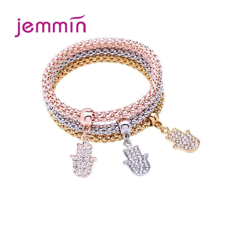 Gorgeous Genuine 925 Sterling Silver Bracelet For Women Five Models For Choice High Quality Women Fashion Bracelet Jewelry