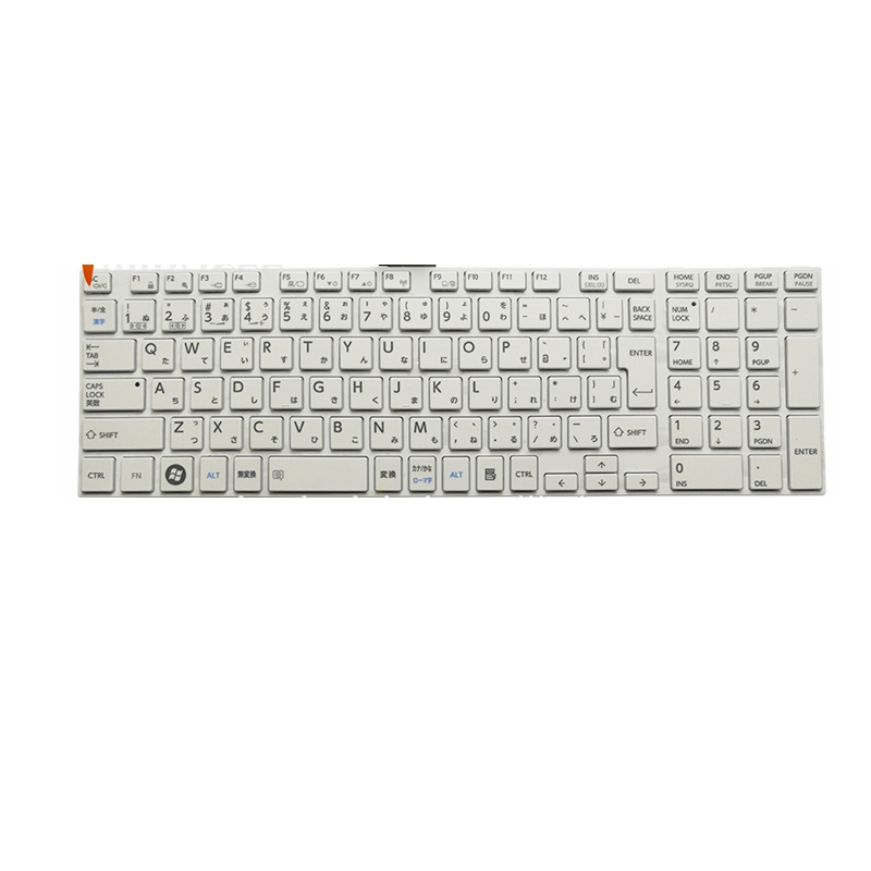 Laptop Keyboard For Toshiba Satellite C850 P870 L850 C850D C855 C855D Dynabook T452 T552 T652 T752 T772 T572 JP Japanese White