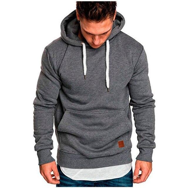Covrlge Mens Sweatshirt Long Sleeve Autumn Spring Casual Hoodies Top Boy Blouse Tracksuits Sweatshirts Hoodies Men MWW144 4