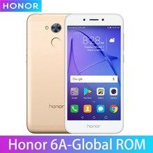Globalne oprogramowanie układowe Honor 6A zagraj w 3GB 32GB Snapdragon 430 Octa Core telefon komórkowy 5.0 Cal Dual SIM Android 7.0 odcisk palca