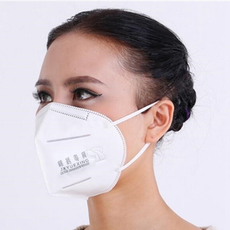 20/50 PCS High-efficiency Filter Cotton Non-woven PP Antivirus And Dust Mask Comfortable Hanging Ear Mask